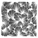 The Crafters Workshop - 6x6 Template Stencil - Lush Petals (TCW 924s)
