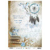 Studio Light Jenine's Mindful Art - Decoupage Rice Paper A4 - NR. 07 (RICEM07)