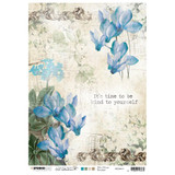 Studio Light Jenine's Mindful Art - Decoupage Rice Paper A4 - NR. 11 (RICEM11)