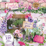 Studio Light - Paper Elements Set - English Garden (EASY659)