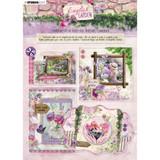 Studio Light - Die-Cut Card Toppers A4 12/Pkg - English Garden (STANSL90)