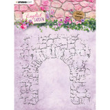 Studio Light - English Garden - Background Stamp - Stone Archway (STAMP434)