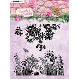 Studio Light - English Garden - Background Stamp - Greenery & Floral Sprays (STAMP435)