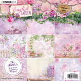 "Studio Light - Paper Pad 6""X6"" 36/Pkg - Collection 1 - English Garden (PPEG135)"