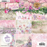 "Studio Light - Paper Pad 6""X6"" 36/Pkg - Collection 2 - English Garden (PPEG136)"