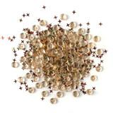 28 Lilac Lane / Buttons Galore : Shimmerz Embellishments 18g - Desert Sky (BRZ - 105)