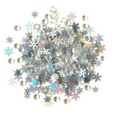 28 Lilac Lane / Buttons Galore : Shimmerz Embellishments 18g - Snow Squall (BRZ - 111)
