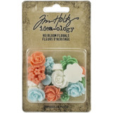 Tim Holtz - Idea-Ology - Heirloom Florals 16/Pkg (TH94040)