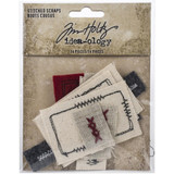 Tim Holtz Idea-Ology - Stitched Scraps 14/Pkg (TH94035)