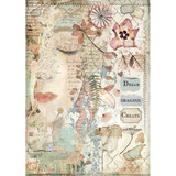 Stamperia - Decoupage Rice Paper A4 - Imagine Collection - Front Face (DFSA4437)