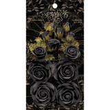 Graphic 45 Staples Rose Bouquet Collection 15/Pkg - Photogenic Black (4501979)