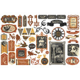 Graphic 45 - Die Cut Assortment 51/pcs - Farmhouse (G4502064)