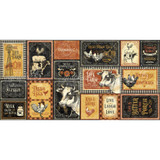 Graphic 45 - Ephemera and Journaling Cards - Farmhouse (4502063)