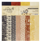 Graphic 45 -Patterns and Solids 12x12 - Farmhouse (G4502060)