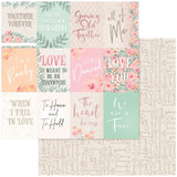 Couture Creations - Double-Sided Paper 12x12 - My Secret Love #11 (CO727599)