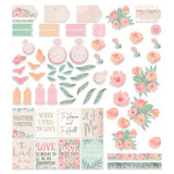 Couture Creations - Ephemera 39/Pkg - My Secret Love (CO727601)