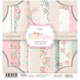 Couture Creations - Double-Sided Paper Pad 6.5x6.5 - My Secret Love (CO727588)
