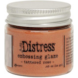 Ranger Tim Holtz Distress Embossing Glaze - Tattered Rose (TDE 71020)