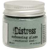 Ranger Tim Holtz Distress Embossing Glaze - Weathered Wood (TDE 71051)