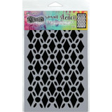"Dyan Reaveley Dylusions Small Stencil 5""X8"" - Fancy Floor (DYS 71440)"