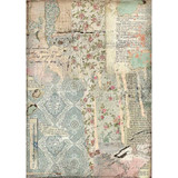 Stamperia - Decoupage Rice Paper 8.25 x 11.5 - Imagine - Wallpaper (DFSA4441)