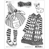 "Dyan Reaveley Dylusions Cling Stamp 8.5""X7"" - Maisie Lilly (DYR 72973)"