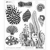"Dyan Reaveley Dylusions Cling Stamp 8.5""X7"" - She Sells Sea Shells (DYR 72980)"
