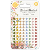 Craft Consortium - Adhesive Pearls 80/Pkg- Farm Meadow (CAPRL001)