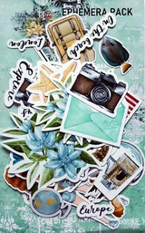 13@rts - Ephemera Die Cuts 47/Pcs - Travel the World (ARTTW09)