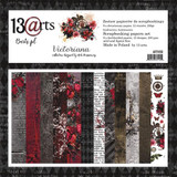 13@rts - 12x12 Paper Collection 6/Pkg - Victoriana (ARTV100)