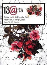 13@rts - Paper Card Set A6 24/Pkg - Victoriana (ARTVI08)