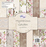 Altair Art - 12x12 Paper Collection 7/Pkg - Mysterious Garden (ALT-MG-100)