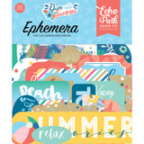 Echo Park - Cardstock Ephemera 33/Pkg- Dive Into Summer (IS210024)