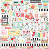 Carta Bella- Cardstock Sticker Sheet 12x12 - Summer Market (UM115014)