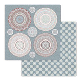 Stamperia - Double Sided Cardstock 12x12 - 26 Secrets of India - Mandala (SBB689)