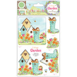 Craft Consortium - 3D Decoupage & Topper Set - Cottage Garden (CDPAK003)