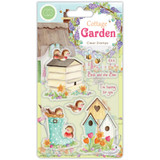 Craft Consortium - Clear Stamp Set A5 - Cottage Garden - Birds and The Bees (CSTMP031)