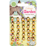 Craft Consortium - Laser-Cut Wooden Shapes 30/Pkg- Cottage Garden (CWDNS007)