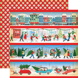 Carta Bella - A Very Merry Christmas 12x12 Cardstock - Border Strips (CBVMC72002)