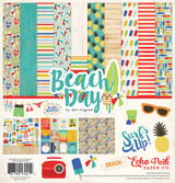 Echo Park -Collection Kit 12x12- Beach Day (CBBD54016TM)