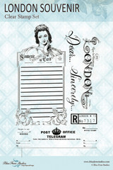 Blue Fern Studios - Clear Stamp - Jane's Memoirs - London Souvenir (144172)