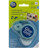 Glue Dots - Clear Dot Disposable Dispenser (04018)