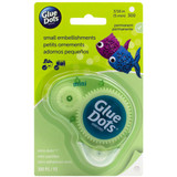 Glue Dots - Clear Dot Disposable Dispenser - Mini 300/Pkg (33583)