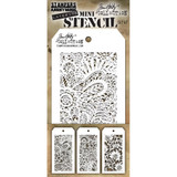 Tim Holtz - Mini No.47 Stencils - Stampers Anonymous-#47 (MTS - 47)