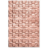 Sizzix - Jen Long - 3-D Textured Impressions Embossing Folder - Adorned Tile (664426)