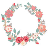 Sizzix - Olivia Rose - Thinlits Die Set 6/Pkg - Wedding Wreath (663862)