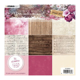 "Studio Light - Paper Pad 6""X6"" 36/Pkg - Jenine's Mindful Art 3.0 - No5 (PPJMA04)"