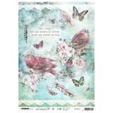 Studio Light Jenine's Mindful Art - Decoupage Rice Paper A4 - NR. 18 (RICEJM18)