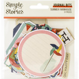 Simple Stories - Bits & Pieces Die-Cuts 56/Pkg - Summer Farmhouse - Journal Bits (SFH12617)
