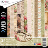Ciao Bella - Double-Sided Paper Pack 6x6 24/Pkg - The Muse (CBQ028)